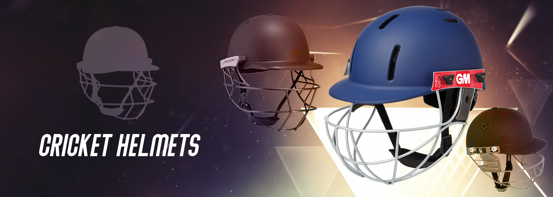 New Collection Of Cricket Helmets