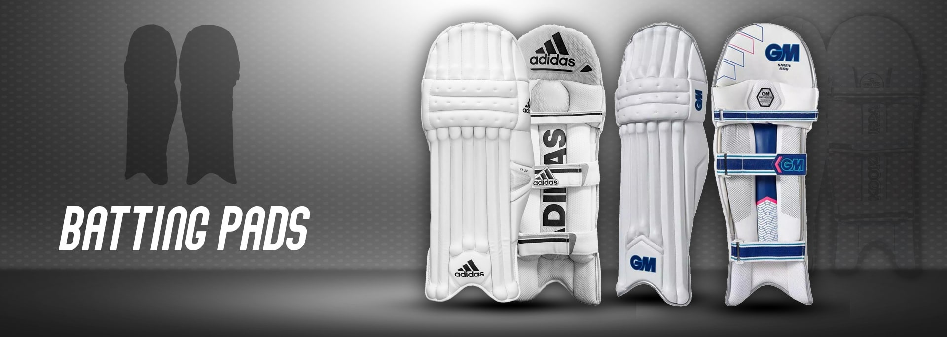 New Year Cricket Pad Collection