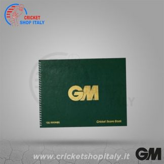 GM CRICKET SCOREBOOK (100 INNINGS)