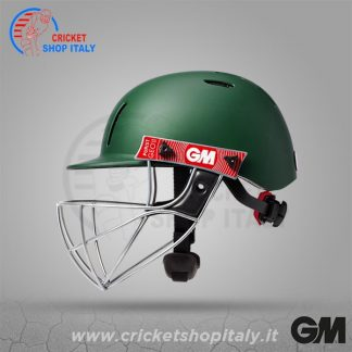 GM PURIST GEO II CRICKET HELMET GREEN