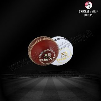 IHSAN X5 RED CRICKET BALL