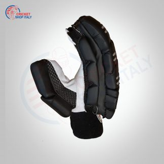 BLACK CRICKET BATTING GLOVES