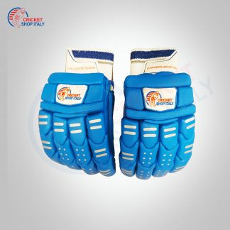 BLUE CRICKET BATTING GLOVES
