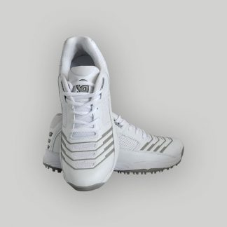 CA CRICKET SHOES GR-17- GREY & WHITE