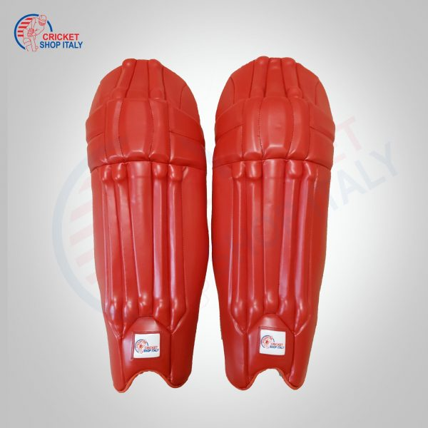 RED CRICKET BATTING PADS